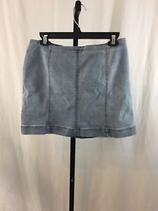 Women-039-s-Wild-Fable-Denim-Jean-Skirt-Size-12-NWT