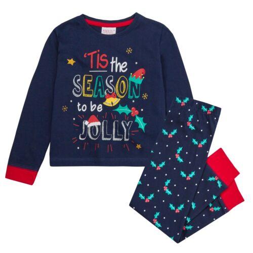Enfants Noël Pyjamas 4 fabuleux Designs 2-3 ans à 7-8 ans