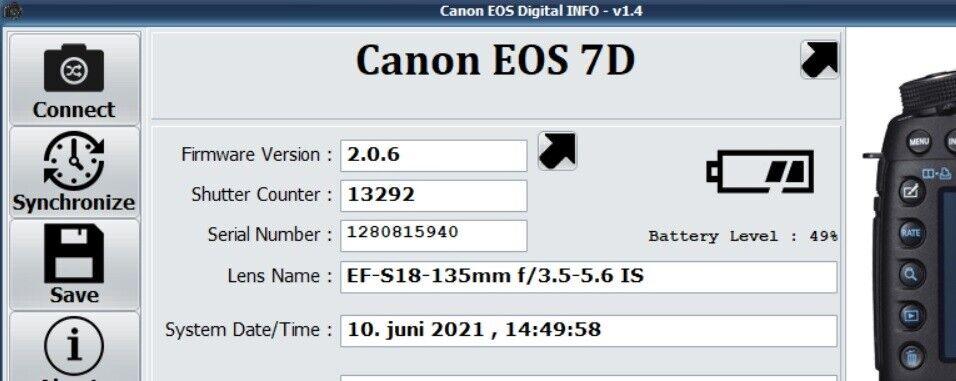 Canon, 7D , spejlrefleks