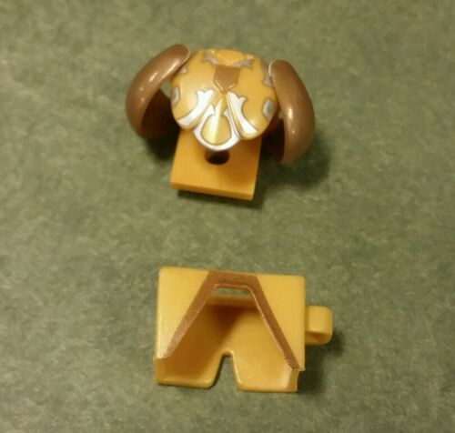 Lot of 2 Custom LEGO Gold armor /& leggings castle knight Roman Greek LOTR