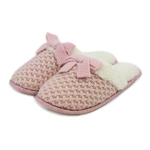 totes Ladies Waffle Knit Mule Slippers