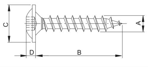 20 pz dado di serraggio lamiera TORX parentesi Clip Per Audi VW BMW sotto pavimento