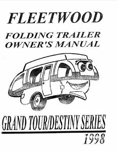 Fleetwood Tent Trailer Owners Manual 2001 Coleman