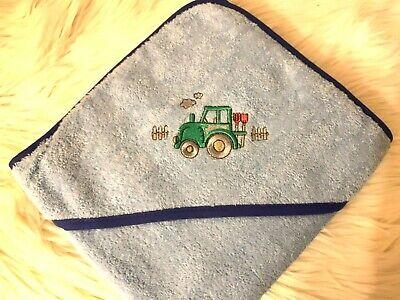 Badetuch Handtuch Wörner kapuzenhandtuch mit Applikation und Namen