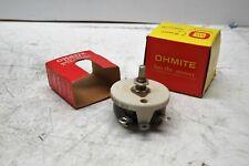 Ohmite CLU-1521 Potentiometer 1500 OHMS 2 Watt Brand New