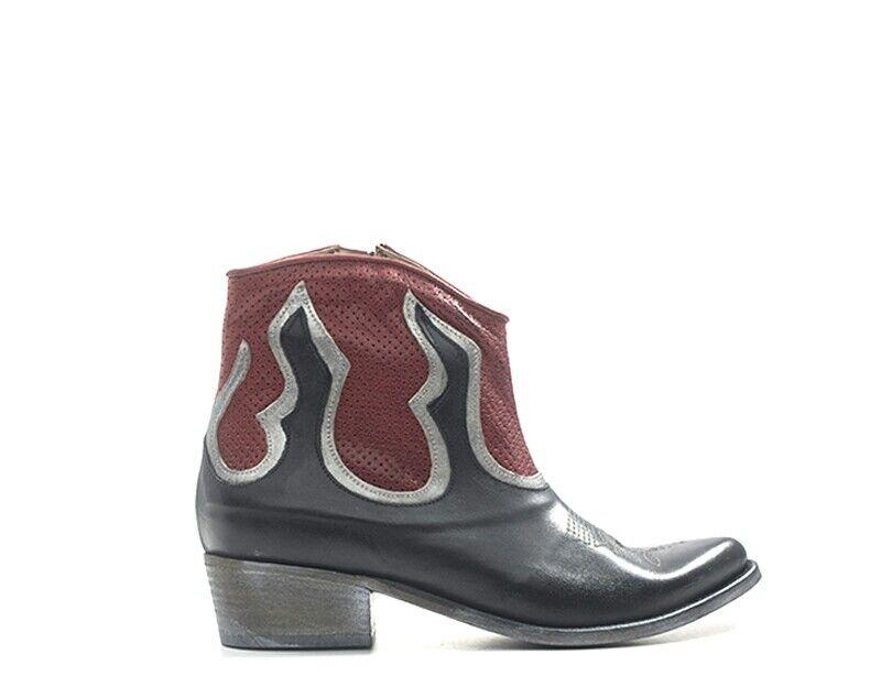 zapatos DorojoHYD Femme negro Cuir naturel K2-13-NE