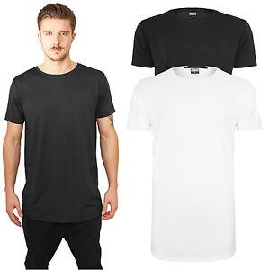 87ffaa6352a3 Urban Classics Herren T-Shirt extra lang long Shirt Tee Neopren Long ...