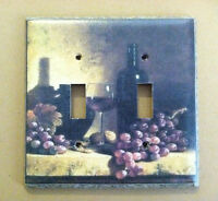 Wine Bottle Tuscan Decor Light Switch Plate Cover Choose Type Of Cover