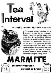 Marmite Reproduction Vintage food advert poster Wall art.