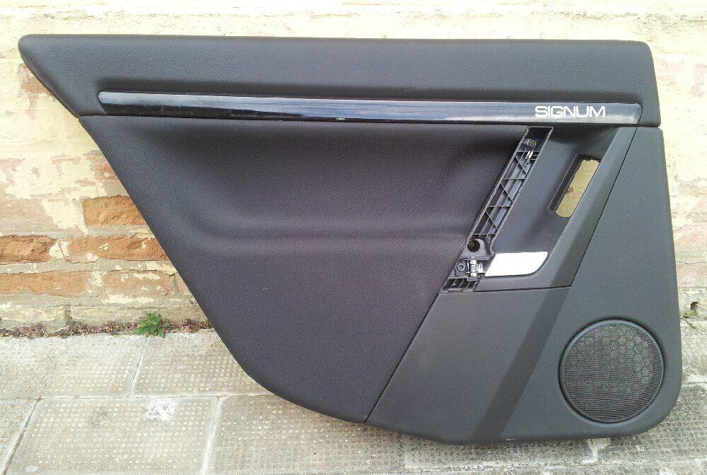 Coppia pannelli portiera posteriori in stoffa OPEL SIGNUM ricambio usato
