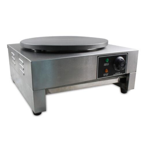 3KW Crepesplatte Crepesmaker Crepes Crepeseisen Crepesgerät Crepe 40cm Platte DE