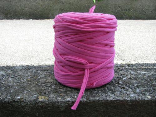 Taschen Pinkes Textilgarn Häkeln//Stricken für Körbe,Teppiche