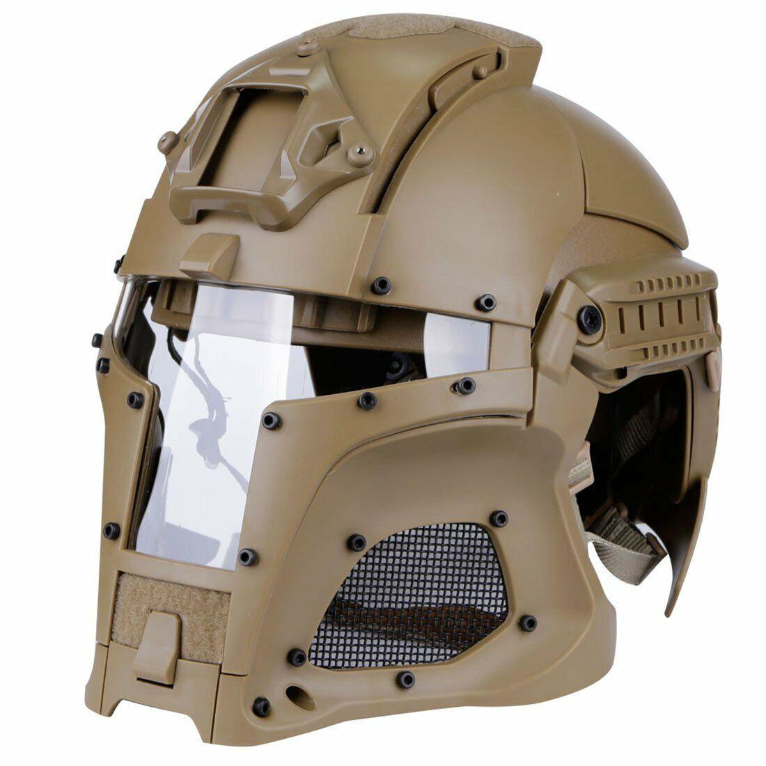 Airsoft Helmet Star Wars Helmet Paintball Full Gesicht Protection Mask Boba Fett Visor