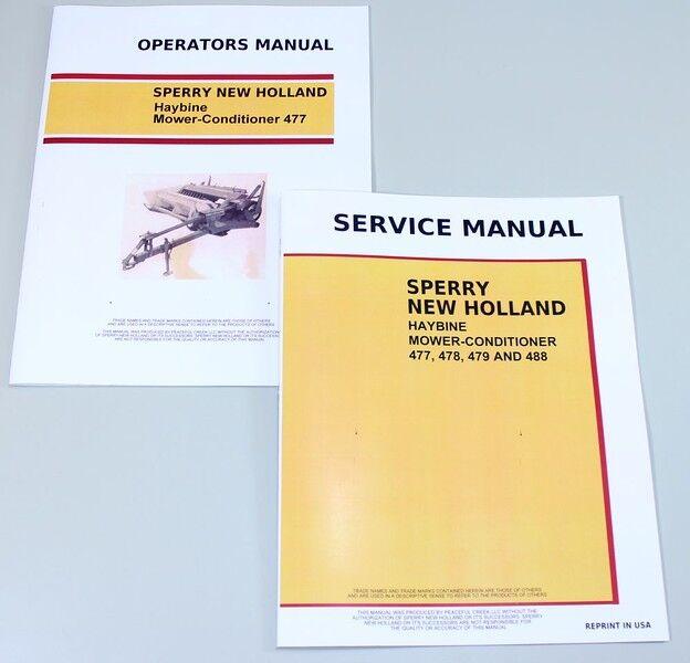 set holland 477 haybine mower conditioner service operators owners rh ebay com bora air conditioner owner's manual lg air conditioner owner's manual