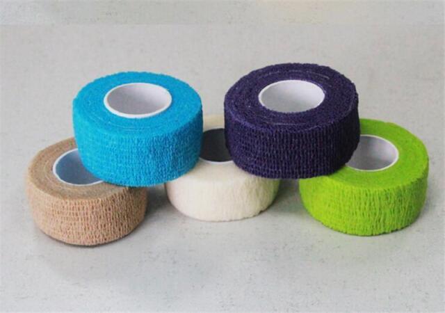 1x Wrap Finger Bandage Strip Nail Art Protect Tape Random Color Best CA