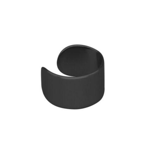 1 Pc Punk Men Stainless Steel Non-Piercing Clip On Ear Stud Cuff Hoop Earrings