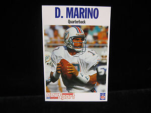 1992-Dan-Marino-Miami-Dolphins-NewSport-French-Card