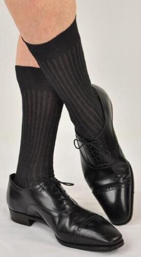 Marcoliani and Bresciani Men/'s 7 pr Mid-Calf Dress Sock Grab Bag Made in Italy