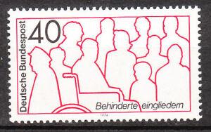 GéNéReuse Rfa 1974 Mi Nº 796 Cachet Luxe!!!-afficher Le Titre D'origine