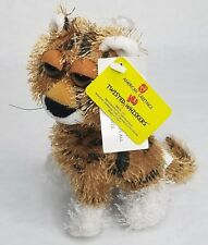 American Greetings Twisted Wild Whiskers Plush Tiger Cat With Tags