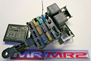 image is loading toyota-mr2-mk2-foot-well-interior-fuse-box-