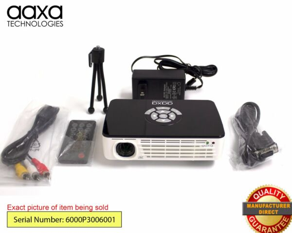 Adaptable Aaxa P300 Hd Home Theater Pico Projector,60-min Battery, Hdmi (refurbished) Koop Altijd Goed