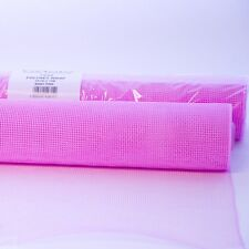 Oasis Polynet Floral Fabric Wrap Red 54cm Wide on a 10m Roll