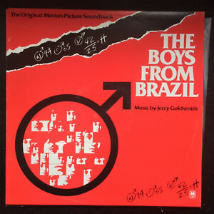 Details about BOYS FROM BRAZIL movie soundtrack LP Jerry Goldsmith score  rare 70s cult NM/NM