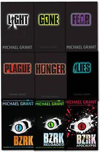 Gone-Series-Michael-Grant-Collection-9-Books-Set-BZRK-Fear-Hunger-Lies-Plague