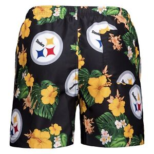 Image is loading Pittsburgh-Steelers-NFL-Men-039-s-Floral-Swimming- 179feb0b4