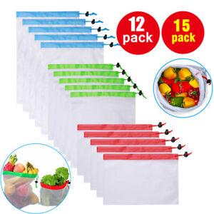 12pcs-15Pcs-Reusable-Mesh-Produce-Bags-Fruit-Vegetable-Storage-Eco-Friendly