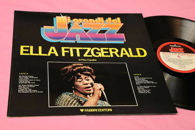 FITZGERALD LP ITALIA 1980 JAZZ MINT MAI JUGADO FOC+FOLLETO BIO
