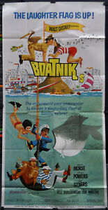 BOATNIKS-1970-ORIGINAL-41X81-3-SHEET-MOVIE-POSTER-PHIL-SILVERS-ROBERT-MORSE