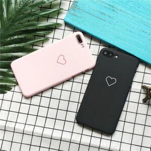 1pc iphone6 7 X Women Girls Love Heart Print Cell Phone TPU Case ... 2fd6abe0f