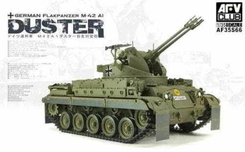 AFV CLUB 35S66 German Flakpanzer M-42 A1