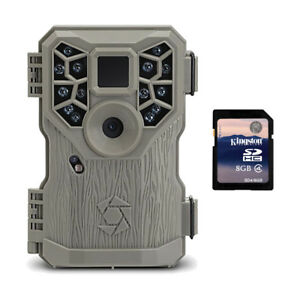 Stealth-Cam-8MP-14-IR-Emitter-Hunting-Game-Trail-Camera-with-Video-8GB-SD-Card