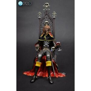 Albator Capitaine Harlock Sur Le Trône Figure De Pvc Haute Statue De Rêve Vinyle New Hl-pro 4589504961063