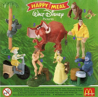 McDonald/'s MC DONALD/'S HAPPY MEAL 2000 Toy Story Pezzi Singoli