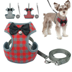 Mesh-Padded-Small-Dog-Harness-and-Leash-Pet-Puppy-Vest-for-Dogs-Chihuahua
