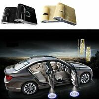 2 Pack Wireless Car Door LED Laser Projector Logo Ghost Shadow Light Lamp - Shell Black/Shell Beige