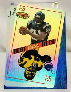 2001-Bowman-039-s-Best-Bets-LADAINIAN-TOMLINSON-San-Diego-Chargers-RC-BB5