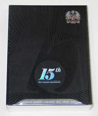 SHINHWA 15th Anniversary Concert THE LEGEND CONTINUES DVD [Photobook]