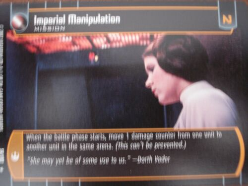 Star Wars TCG ANH Imperial Manipulation