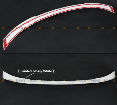 FOR 2018-2019 HONDA ACCORD JDM V TYPE PAINTED PLATINUM WHITE PEARL TRUNK SPOILER