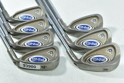 Ping i5 4-W Iron Set Right Regular Flex Steel # 93900  | eBay