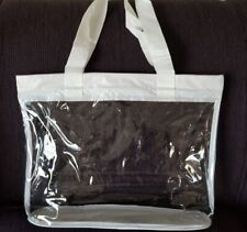 1pc women summer beach bag clear tote bag transparent purse shoulder handbag HU