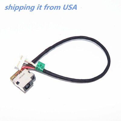HP DC IN Cable DC Power Jack Charging Cable Harness 833596-SR7 833596-FR7 90W