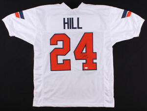 best loved da71d bc0a4 Details about Tyreek Hill Signed Oklahoma State Cowboys Jersey (TSE) K C  Chiefs Wide Receiver