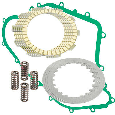 CLUTCH FRICTION PLATES and SPRINGS Fits YAMAHA RAPTOR 80 YFM80R 2002-2008