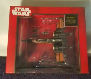 Star-Wars-Poe-039-s-X-Wing-Fighter-Die-Cast-Vehicle-Toy-Disney-Store-NEW-SEALED-Rare